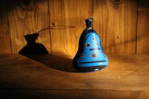 Ozdoba modrý zvonek