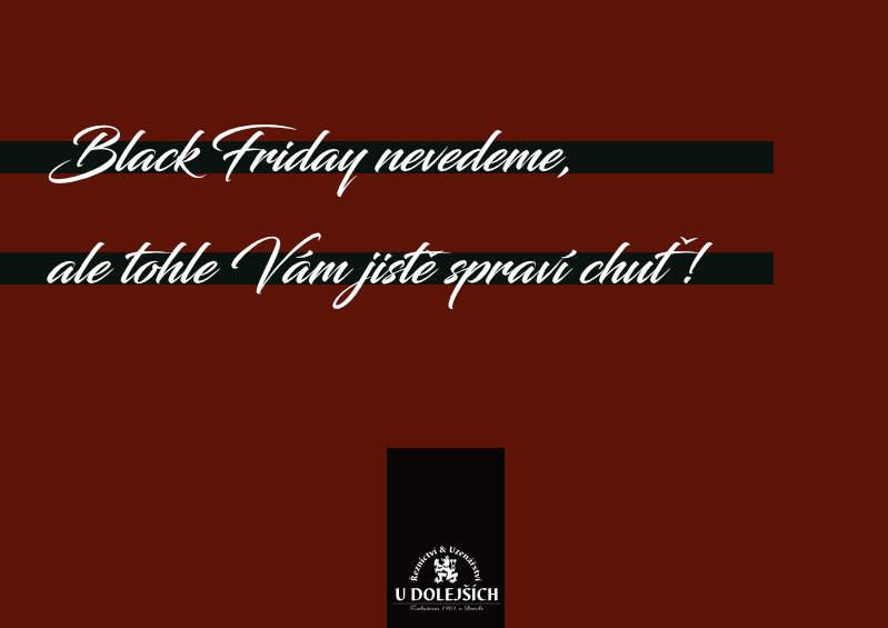 Black Friday nevedeme